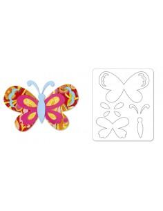 Sizzlits Die - Butterfly...