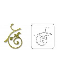 Sizzlits Die - Vine, Swirly by Basic Grey