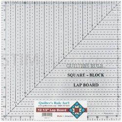 """Squadra Quadrata """"QR"""" - Blu – 17x17 cm."""