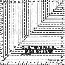 """Squadra Quadrata """"QR"""" - Nero – 17x17 cm."""