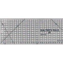 """Squadra Rettangolare """"QR"""" - Blu – 11x35 cm."""