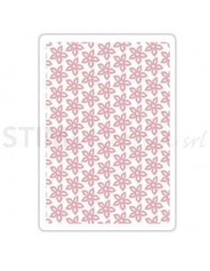 Textured Impressions Embossing Folder - Floral Texture by Craft Asylum