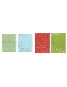 Textured Impressions Embossing Folders 2PK - Garden Set by Rachael Bright
