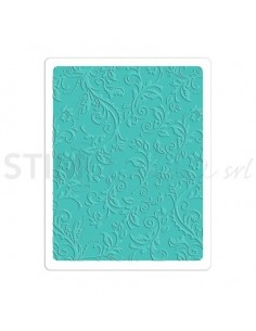 Textured Impressions Plus Embossing Folder - Botanical Swirls by R. Bright PRICE