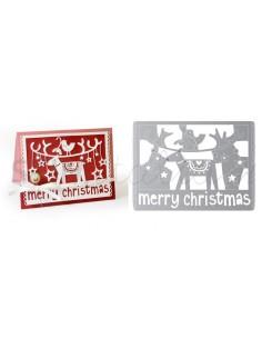 Thinlits Die - Merry Christmas by Debi Potter