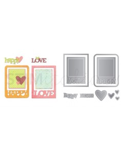 Thinlits Die Set 10PK - Phrase Cards by Paula Pascual