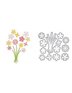 Thinlits Die Set 13PK - Bunch of Flowers by Paula Pascual