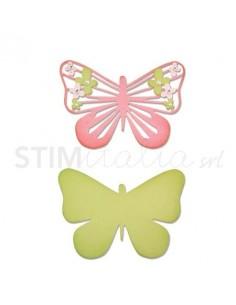 Thinlits Die Set 2PK - Graceful Butterfly 2 by Craft Asylum