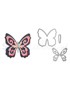 Thinlits Die Set 3PK - Butterfly 2 by Pete Hughes