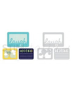 Thinlits Die Set 3PK - Laugh Today by Rachael Bright