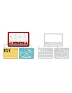 Thinlits Die Set 3PK - Smile for the Camera by Rachael Bright