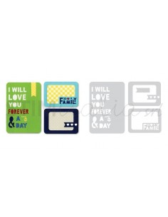 Thinlits Die Set 4PK - Forever & a Day by Rachael Bright