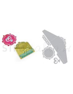 Thinlits Die Set 4PK - Pocket & Insert, Doily by Rachael Bright