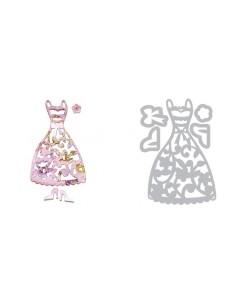 Thinlits Die Set 5PK - Dress & Shoes by Dena Designs