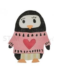 Thinlits Die Set 6PK - Friendship Penguin by Craft Asylum