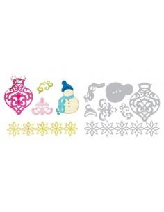 Thinlits Die Set 7PK - Christmas 2 by Rachael Bright