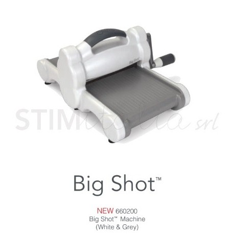 Big Shot Machine Only (White & Gray) NEW - by Ellison