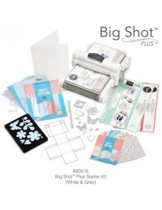 Big Shot Plus Starter Kit (White & Gray) NEW - by Ellison
