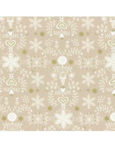 31320-10 - Lecien L's Modern Magical Winter Time! - Cotone Stampato Giapponese