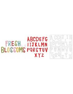 Bigz Alphabet Set 4 Dies -...