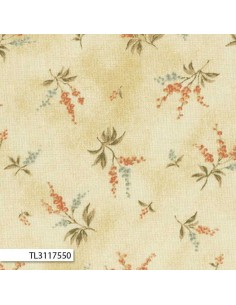 31175-50 - Lecien Mrs March's in Antique - Cotone Stampato Giapponese