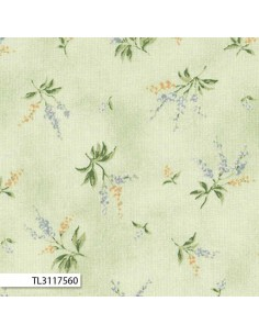 31175-60 - Lecien Mrs March's in Antique - Cotone Stampato Giapponese