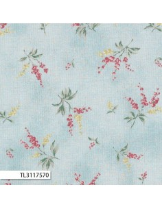 31175-70 - Lecien Mrs March's in Antique - Cotone Stampato Giapponese
