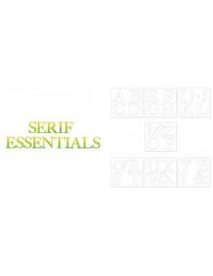 Bigz Alphabet Set 7 Dies - Serif Essentials by E.L. Smith