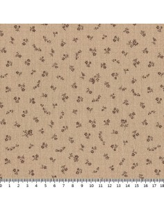 31180-11 - Lecien Mrs March's in Antique - Cotone Stampato Giapponese