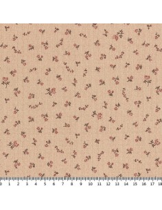 31180-40 - Lecien Mrs March's in Antique - Cotone Stampato Giapponese