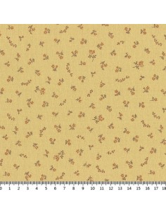 31180-50 - Lecien Mrs March's in Antique - Cotone Stampato Giapponese