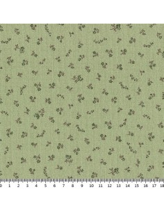 31180-60 - Lecien Mrs March's in Antique - Cotone Stampato Giapponese
