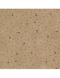 31185-60 - Lecien Mrs March's in Antique - Cotone Stampato Giapponese