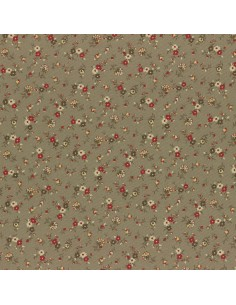 31186-11 - Lecien Mrs March's in Antique - Cotone Stampato Giapponese