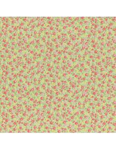 31216-60 - Lecien Petit Fleur Basic - Cotone Stampato Giapponese