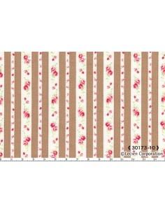 31217-10 - Lecien Petit Fleur Basic - Cotone Stampato Giapponese