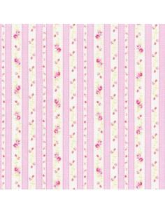 31217-20 - Lecien Petit Fleur Basic - Cotone Stampato Giapponese