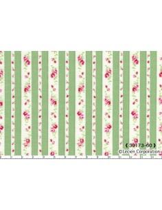 31217-60 - Lecien Petit Fleur Basic - Cotone Stampato Giapponese