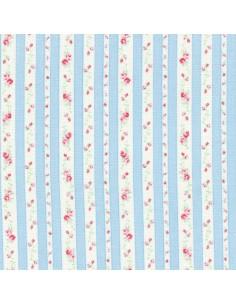 31217-70 - Lecien Petit Fleur Basic - Cotone Stampato Giapponese
