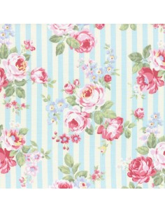 31264-70 - Lecien Princess Rose - Cotone Stampato Giapponese