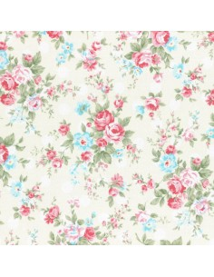 31265-10 - Lecien Princess Rose - Cotone Stampato Giapponese