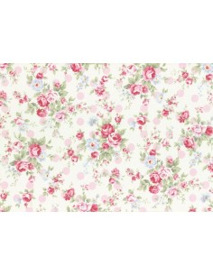 31265-20 - Lecien Princess Rose - Cotone Stampato Giapponese