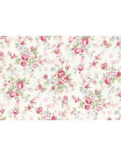 31265-20 - Lecien Princess Rose - Cotone Stampato Giapponese