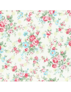31265-60 - Lecien Princess Rose - Cotone Stampato Giapponese