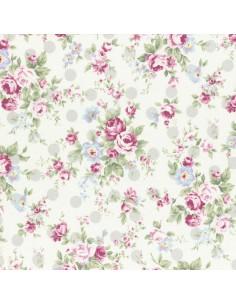 31265-90 - Lecien Princess Rose - Cotone Stampato Giapponese