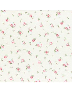 31267-10 - Lecien Princess Rose - Cotone Stampato Giapponese