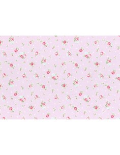 31267-110 - Lecien Princess Rose - Cotone Stampato Giapponese
