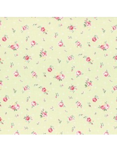 31267-60 - Lecien Princess Rose - Cotone Stampato Giapponese