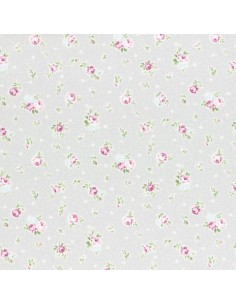 31267-90 - Lecien Princess Rose - Cotone Stampato Giapponese