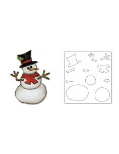 Bigz Die - Assembly Snowman...